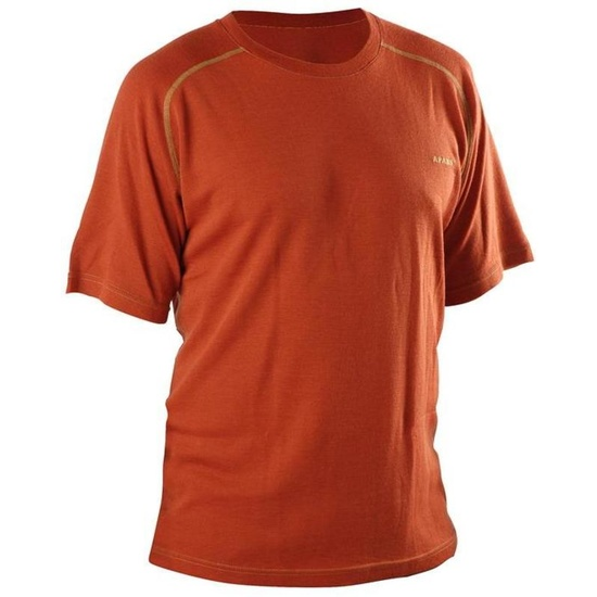 Tričko AFARS Merino krátky rukáv Orange L