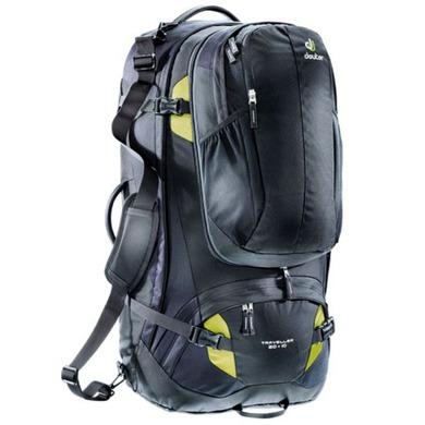 Batoh Deuter Traveller 80+10 black-moss (3510215)