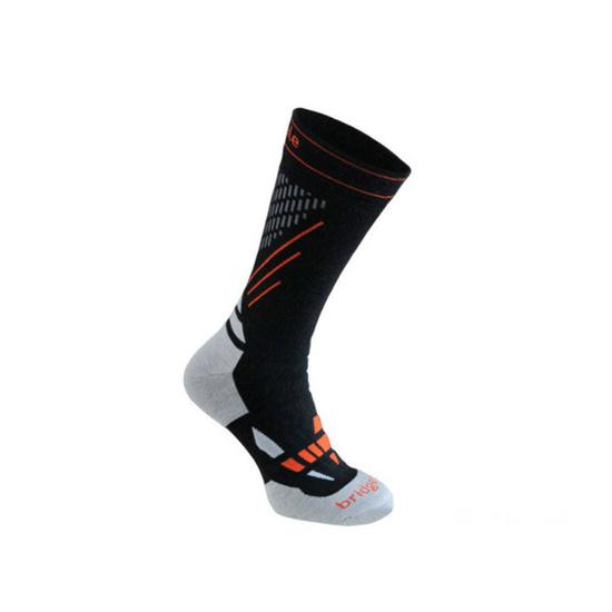 Ponožky BRIDGEDALE XC Race 850 Black / Stone L (7-8,5) UK