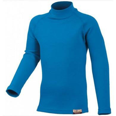 Detské vlnené triko Lasting Sony 5151 modrá 130