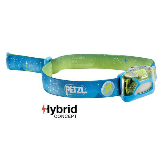čelovka Petzl Tikkid Hybrid E091BA00 modrá