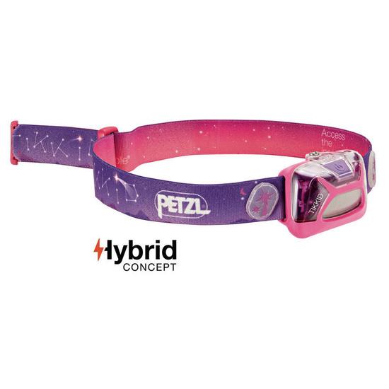 čelovka Petzl Tikkid Hybrid E091BA01 ružová