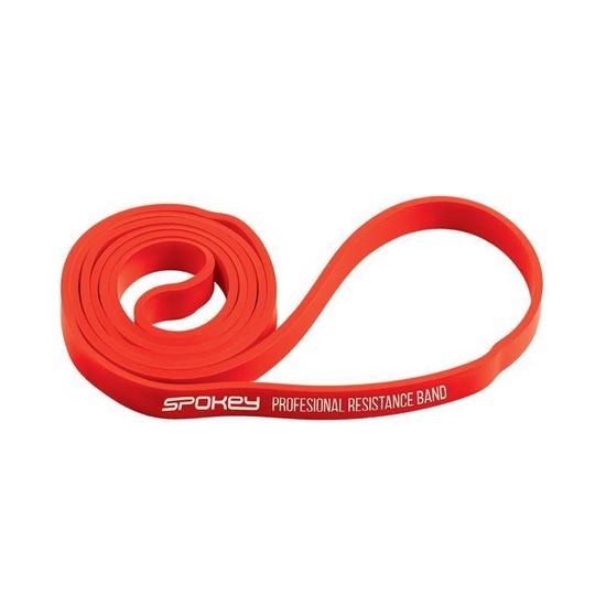 Odporové guma Spokey POWER II červená odpor 8-15 kg