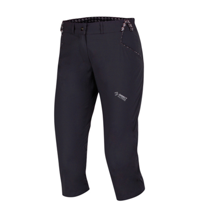 Outdoorové nohavice IRIS Lady 3/4 anthracite XS