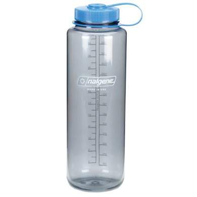 Fľaša Nalgene Wide Mouth 2178-0048 grey