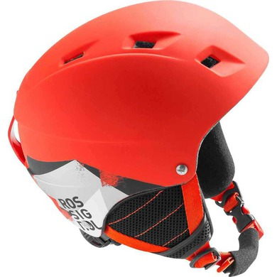 Lyžiarska helma Rossignol Comp J red-led RKFH504
