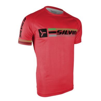 Pánske triko Silvini PROMO MT855 red S