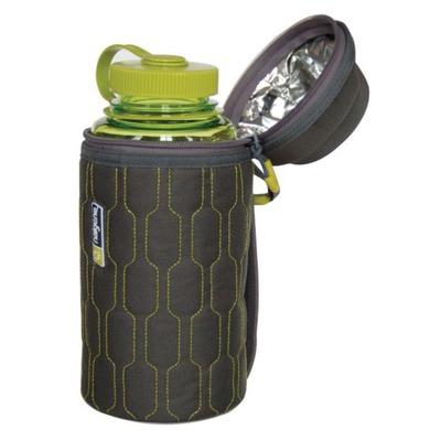 Obal na fľaše Nalgene 2355-0012 green grey