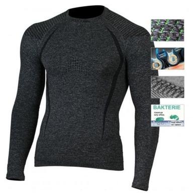 Pánske triko Lasting Tolo 8990 sivá S/M