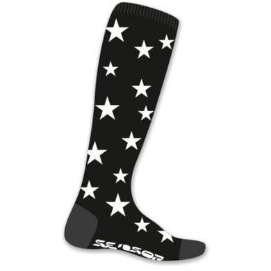 Ponožky Sensor Thermosnow Stars čierne 16200158 3/5 UK