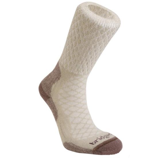 Ponožky Bridgedale Hike Lightweight Merino Comfort Boot Women's sand/929 S (3-4,5)