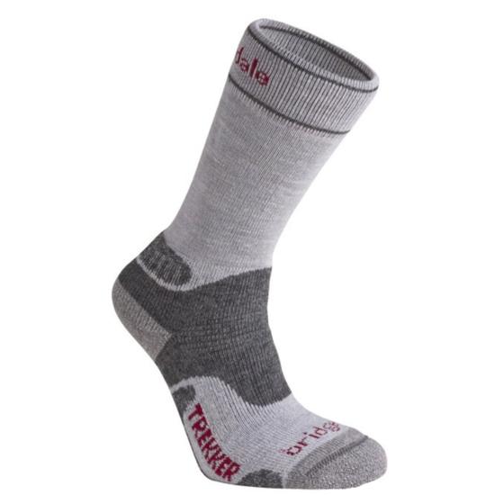 Ponožky Bridgedale Hike Midweight Merino Performance Boot Women's silver/grey/809 S (3-4,5)