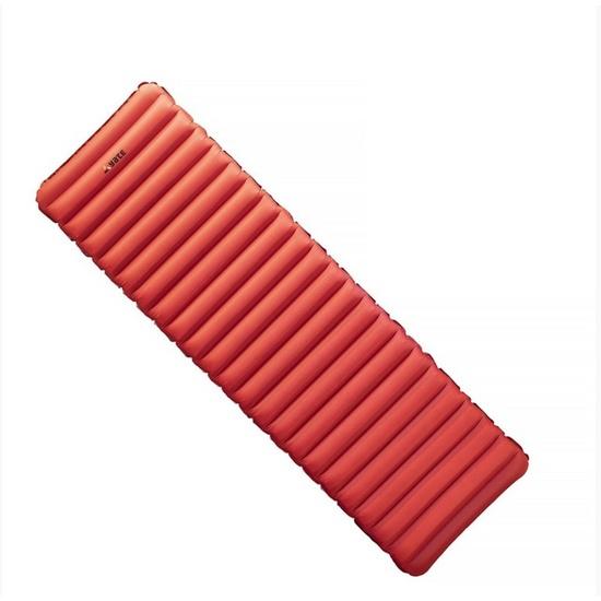 Nafukovací karimatka Yate NOMAD 193x58x9 cm červená / šedá
