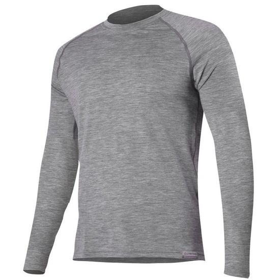 Merino Tričko Lasting ATAR 8484 šedé vlnené L