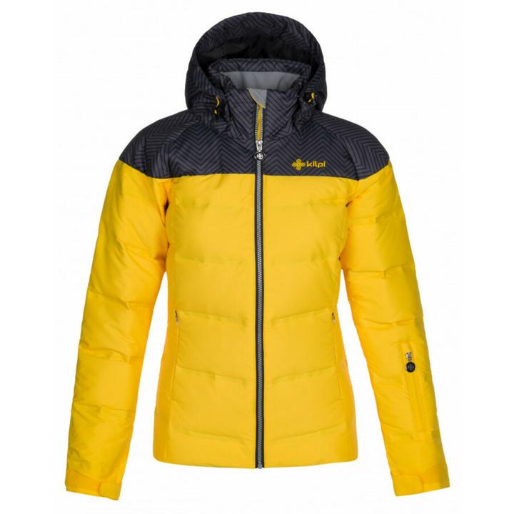 Dámska lyžiarska bunda Kilpi BUFFY-W žltá 36