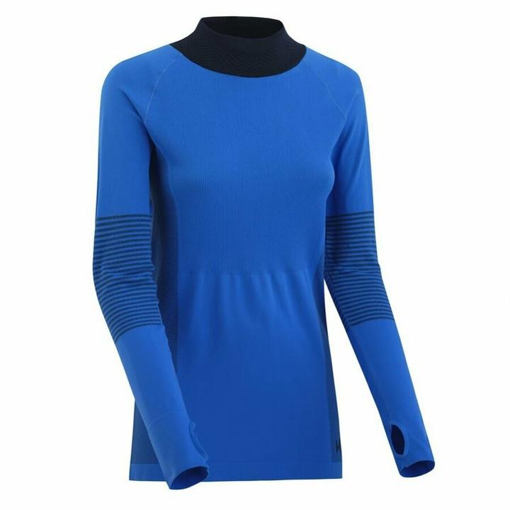 Dámske športové triko s dlhým rukávom Kari Traa Sofie 622041, modrá M