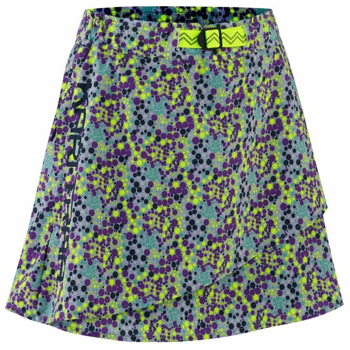 Dámska športové sukňa s integrovanými šortkami Kari Traa signe skort 622803, modrá S
