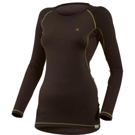 Termo triko Lasting DITA 9072 čierne vlnené L