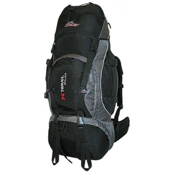 Batoh DOLDY X Travel 60+10l čierny