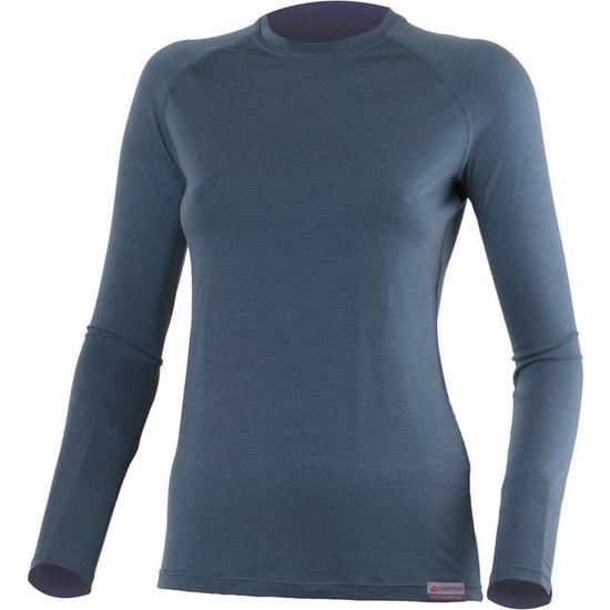 Tričko Lasting ATILA 5656 modré vlnené S