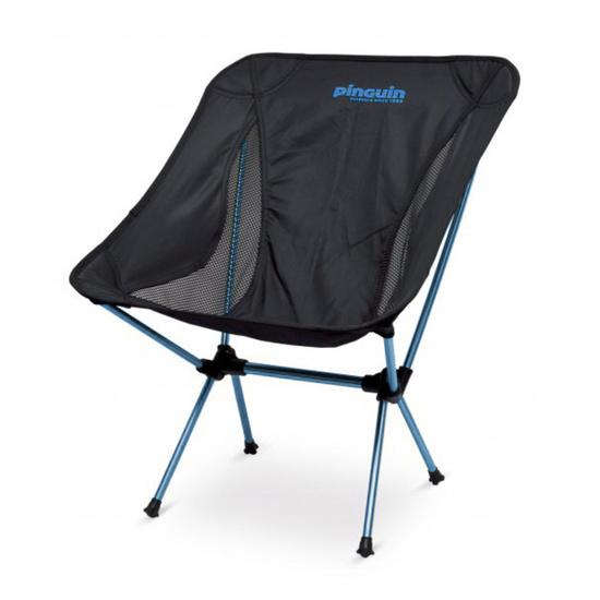stolička Pinguin Pocket Chair Black/Blue