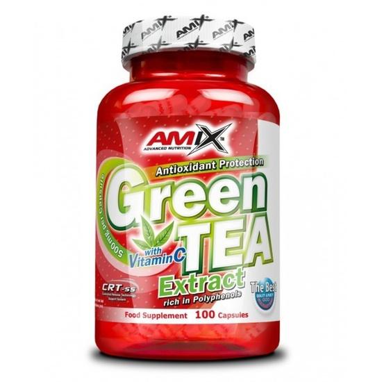 Amix Green TEA Extract with Vitamín C 100 kapsúl