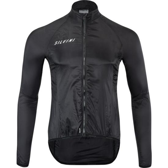 Pánska cyklistická bunda Silvini Montilio MJ1601 Black