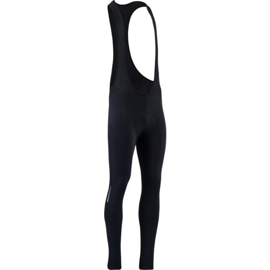 Pánske zimný cyklistické nohavice Silvini Rapone Pad MP1737 black