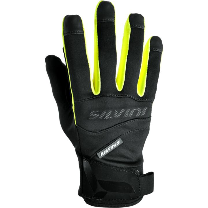 Rukavice Silvini FUSARO UA745 black-neon XL