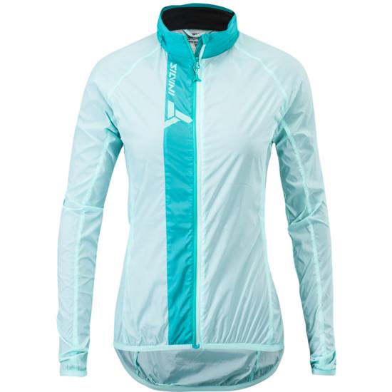 Dámska cyklistická bunda Silvini Gela WJ1617 turquoise