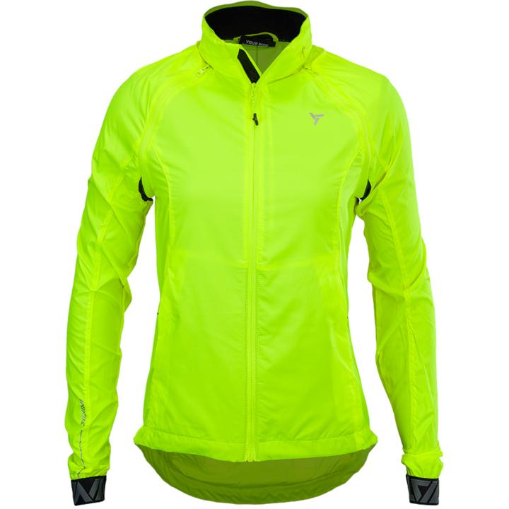 Dámska športové bunda Silvini Vetta WJ1623 neon XL