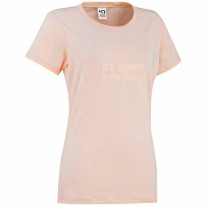 Dámske štýlové triko s krátkym rukávom Kari Traa Tvilde 622450, ružová M