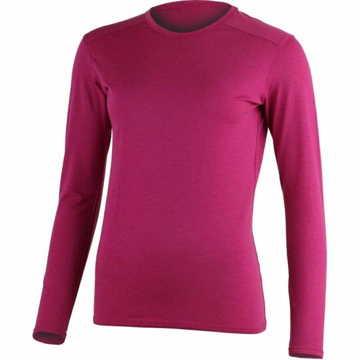 Dámske merino triko dl.rukáv Lasting LADA-9090 ružové L