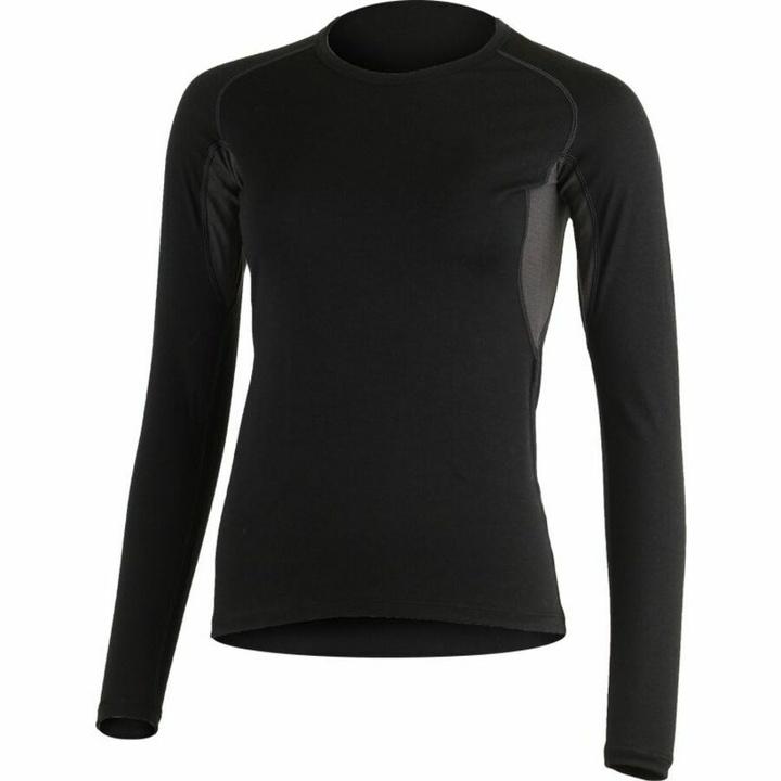 Dámske merino triko dl.rukáv Lasting LOLITA-9058 čierne L