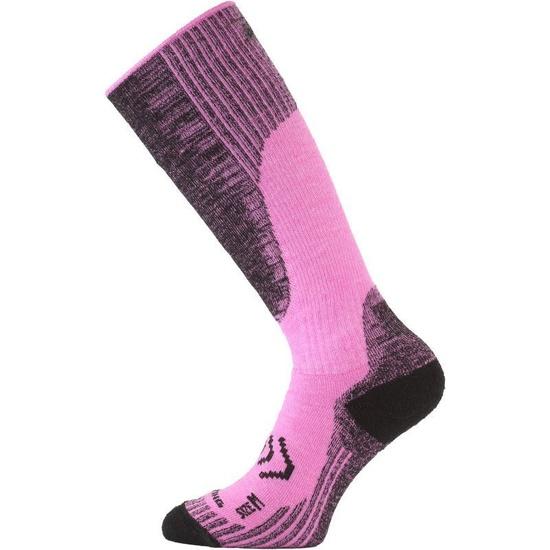 Ponožky Lasting SKM 499 ružové L (42-45)