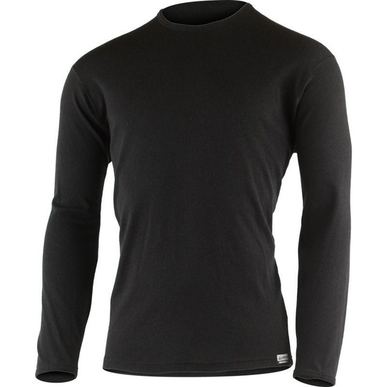 Pánske merino triko Lasting BELO 9090 čierne S