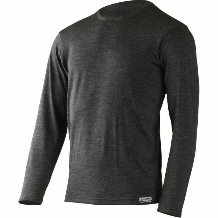 Pánske merino triko Lasting ALAN-8169 šedé S
