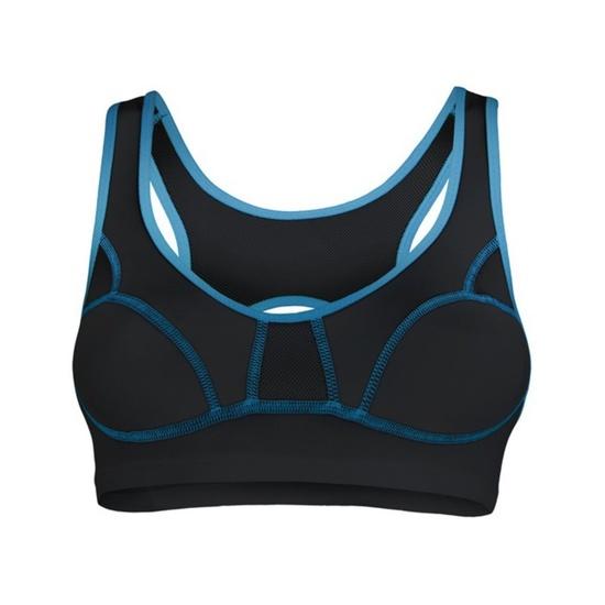 Dámska podprsenka Sensor Lissa čierna / modrá 1065533-33 85B