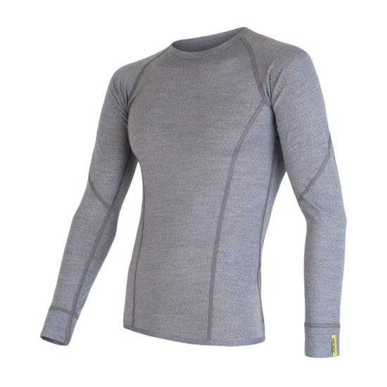 Pánske triko Sensor Merino Wool Active sivá 17200020 XXL