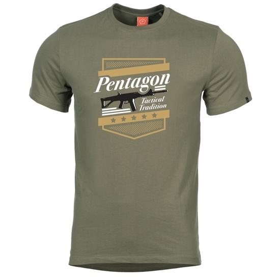 Pánske tričko PENTAGON® ACR zelené S