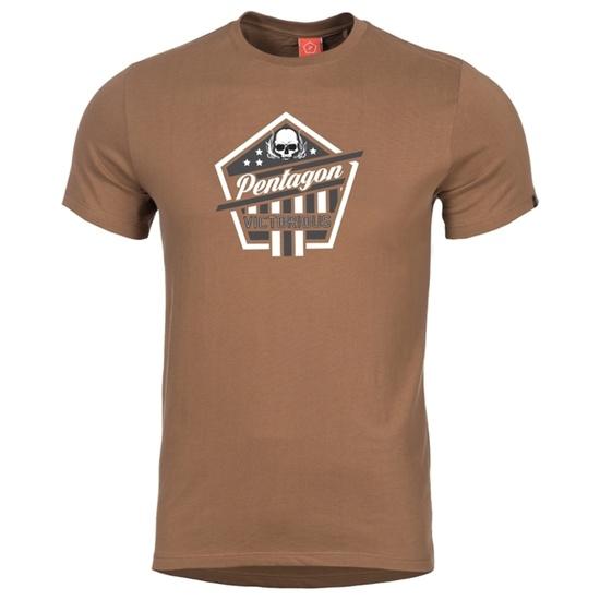 Pánske tričko PENTAGON® Victorious hnedé S