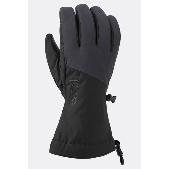 Rukavice Rab Pinnacle GTX Glove black / bl XS