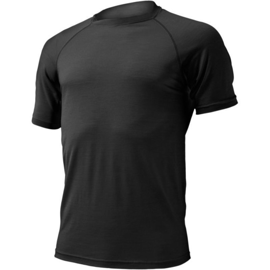 Merino triko Lasting QUIDO 9090 čierne S