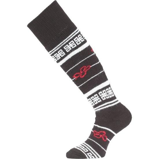 Lyžiarske ponožky Lasting SEW 903 čierna L (42-45)