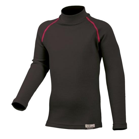 Merino triko Lasting SONY 94P čierne vlnené 140