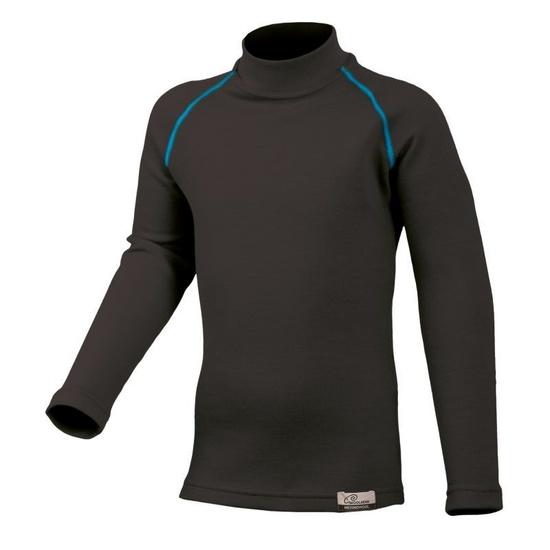 Merino triko Lasting SONY 95P čierne vlnené 130