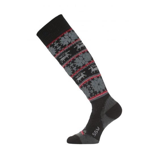 Lyžiarske ponožky Lasting SSW 903 čierna XL (46-49)
