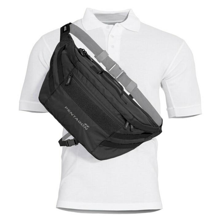 Obličková pištoľ Nemea 2.0 Pentagon® čierna