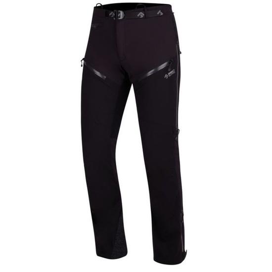 Nohavice Direct Alpine REBEL black/grey S