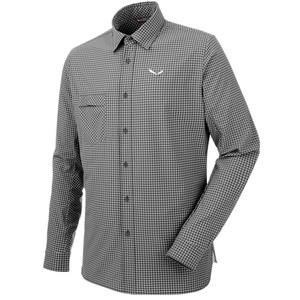 Košeľa Salewa FANES Puez MINI CHECK DRY M L/S SHIRT 26330-0921, Salewa